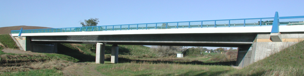 Bridge over Aubach, near Schwerin