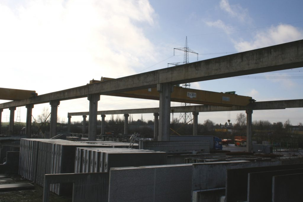 Crane girder BFR, Rostock