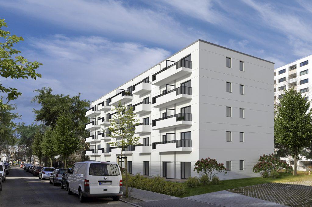 Prühstraße 1 - 11, Berlin Mariendorf